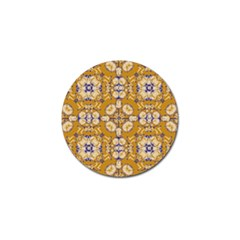 Abstract Elegant Background Card Golf Ball Marker