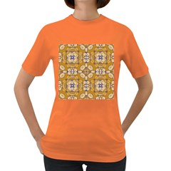 Abstract Elegant Background Card Women s Dark T Shirt