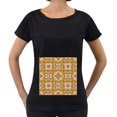 Abstract Elegant Background Card Women s Loose Fit T Shirt (black)