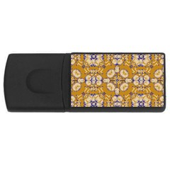 Abstract Elegant Background Card Usb Flash Drive Rectangular (4 Gb)