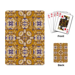 Abstract Elegant Background Card Playing Card