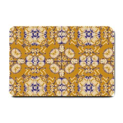 Abstract Elegant Background Card Small Doormat
