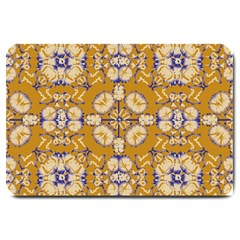 Abstract Elegant Background Card Large Doormat