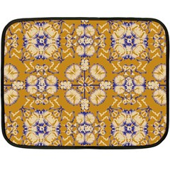 Abstract Elegant Background Card Double Sided Fleece Blanket (mini)