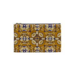 Abstract Elegant Background Card Cosmetic Bag (small)