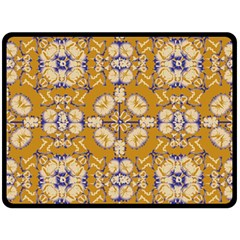 Abstract Elegant Background Card Fleece Blanket (large)