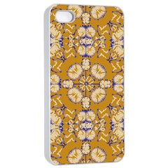 Abstract Elegant Background Card Apple Iphone 4/4s Seamless Case (white)