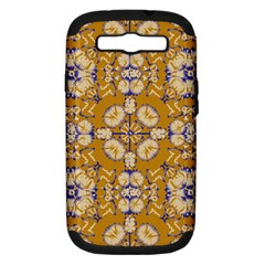 Abstract Elegant Background Card Samsung Galaxy S Iii Hardshell Case (pc+silicone)