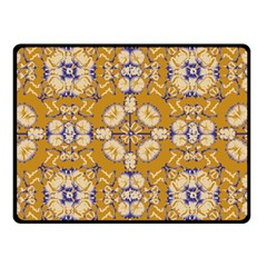 Abstract Elegant Background Card Double Sided Fleece Blanket (small)