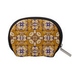 Abstract Elegant Background Card Accessory Pouches (Small)  Back