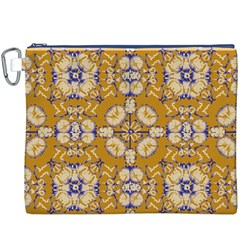 Abstract Elegant Background Card Canvas Cosmetic Bag (xxxl)