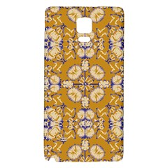 Abstract Elegant Background Card Galaxy Note 4 Back Case