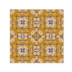 Abstract Elegant Background Card Small Satin Scarf (square)
