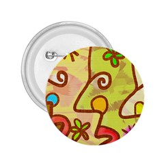 Abstract Faces Abstract Spiral 2.25  Buttons
