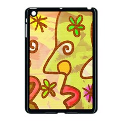 Abstract Faces Abstract Spiral Apple Ipad Mini Case (black)