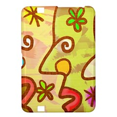 Abstract Faces Abstract Spiral Kindle Fire Hd 8 9