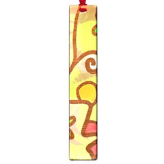 Abstract Faces Abstract Spiral Large Book Marks
