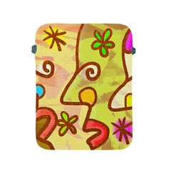 Abstract Faces Abstract Spiral Apple Ipad 2/3/4 Protective Soft Cases