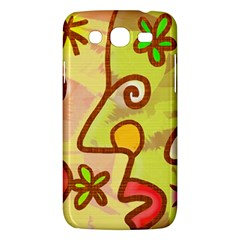 Abstract Faces Abstract Spiral Samsung Galaxy Mega 5 8 I9152 Hardshell Case