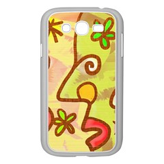 Abstract Faces Abstract Spiral Samsung Galaxy Grand Duos I9082 Case (white)