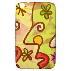 Abstract Faces Abstract Spiral Samsung Galaxy Tab 3 (8 ) T3100 Hardshell Case