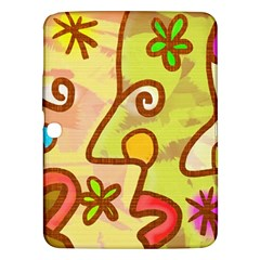 Abstract Faces Abstract Spiral Samsung Galaxy Tab 3 (10 1 ) P5200 Hardshell Case