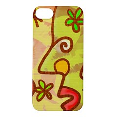Abstract Faces Abstract Spiral Apple iPhone 5S/ SE Hardshell Case