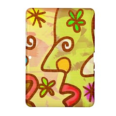 Abstract Faces Abstract Spiral Samsung Galaxy Tab 2 (10 1 ) P5100 Hardshell Case