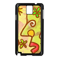 Abstract Faces Abstract Spiral Samsung Galaxy Note 3 N9005 Case (black)