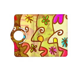Abstract Faces Abstract Spiral Kindle Fire Hd (2013) Flip 360 Case