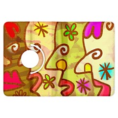 Abstract Faces Abstract Spiral Kindle Fire Hdx Flip 360 Case