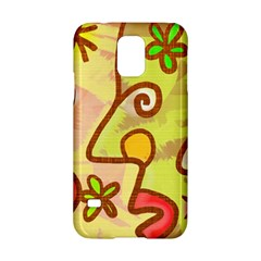 Abstract Faces Abstract Spiral Samsung Galaxy S5 Hardshell Case