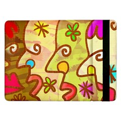 Abstract Faces Abstract Spiral Samsung Galaxy Tab Pro 12 2  Flip Case
