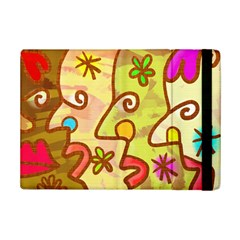 Abstract Faces Abstract Spiral Ipad Mini 2 Flip Cases