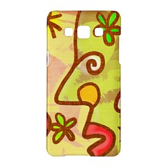 Abstract Faces Abstract Spiral Samsung Galaxy A5 Hardshell Case