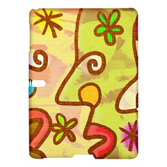 Abstract Faces Abstract Spiral Samsung Galaxy Tab S (10 5 ) Hardshell Case