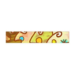Abstract Faces Abstract Spiral Flano Scarf (mini)
