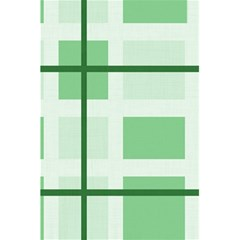 Abstract Green Squares Background 5 5  X 8 5  Notebooks