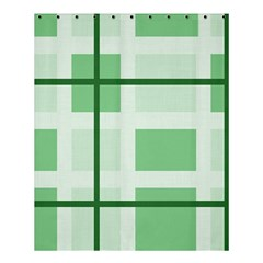 Abstract Green Squares Background Shower Curtain 60  X 72  (medium)