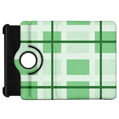 Abstract Green Squares Background Kindle Fire Hd 7