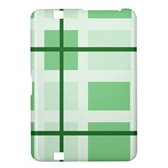 Abstract Green Squares Background Kindle Fire Hd 8 9
