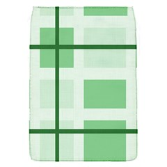 Abstract Green Squares Background Flap Covers (s)