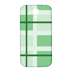 Abstract Green Squares Background Samsung Galaxy S4 I9500/i9505  Hardshell Back Case