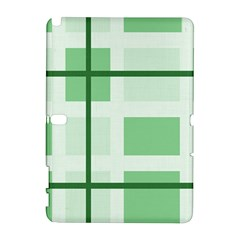 Abstract Green Squares Background Galaxy Note 1