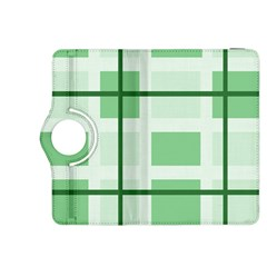 Abstract Green Squares Background Kindle Fire Hdx 8 9  Flip 360 Case