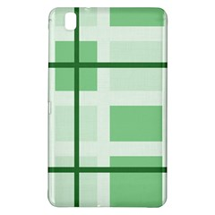 Abstract Green Squares Background Samsung Galaxy Tab Pro 8 4 Hardshell Case