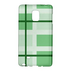 Abstract Green Squares Background Galaxy Note Edge