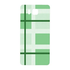 Abstract Green Squares Background Samsung Galaxy Alpha Hardshell Back Case