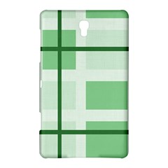 Abstract Green Squares Background Samsung Galaxy Tab S (8 4 ) Hardshell Case