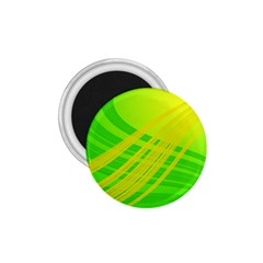 Abstract Green Yellow Background 1.75  Magnets